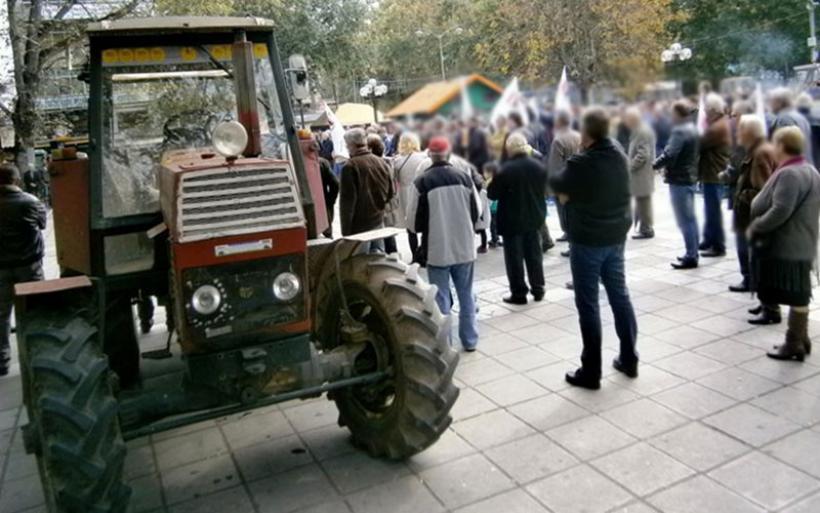 Στο συλλαλητήριο της «Agrotica» αγρότες της Μαγνησίας