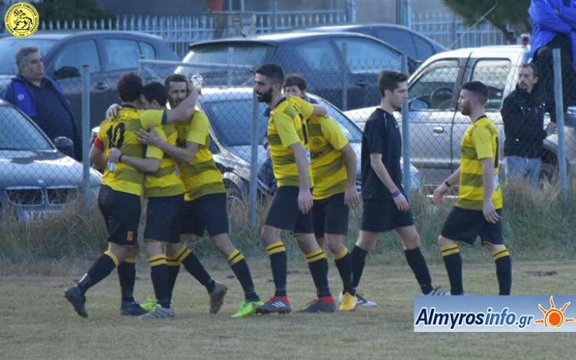 Εντυπωσιακή νίκη για τον Αίαντα 4-0 τον Πύρασο (φωτογραφίες)