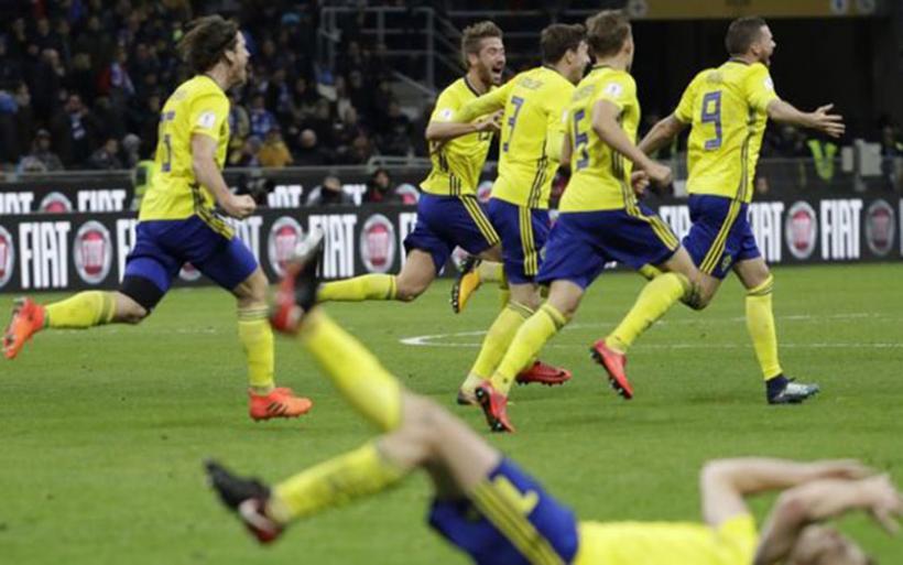 Η Σουηδία σόκαρε το Μιλάνο: εκτός Μουντιάλ η Ιταλία! (VIDEO)