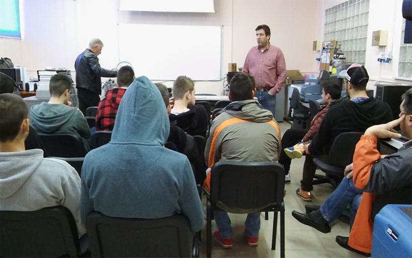 Μαθητές του 1ου ΕΠΑΛ Αλμυρού επισκέφθηκαν τα ΑΤΕΙ Λάρισας
