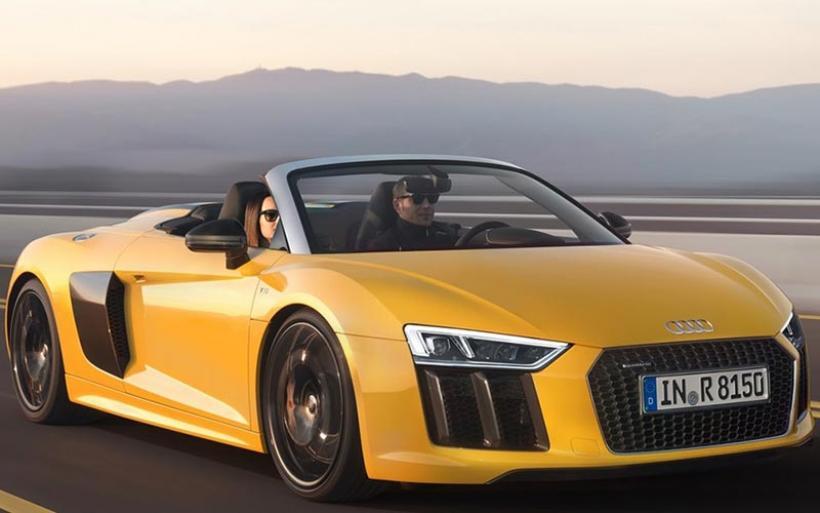 Audi R8 Spyder: Πόσα «g» αντέχεις χωρίς οροφή;