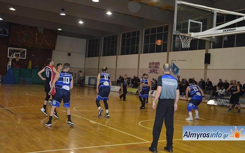 15η νίκη για Γ.Σ.Αλμυρού 87-69 την Ανάληψη (φωτο)