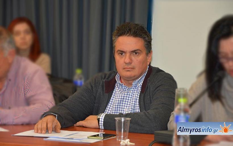 Ευχές για το νέο έτος 2020 από τον αντιδήμαρχο Δ. Αλμυρού Βασ. Αργυρόπουλο