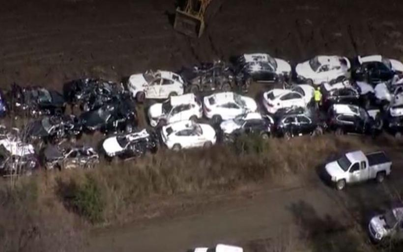 Καταστράφηκαν 120 ολοκαίνουργια οχήματα BMW. Δείτε πώς έγιναν