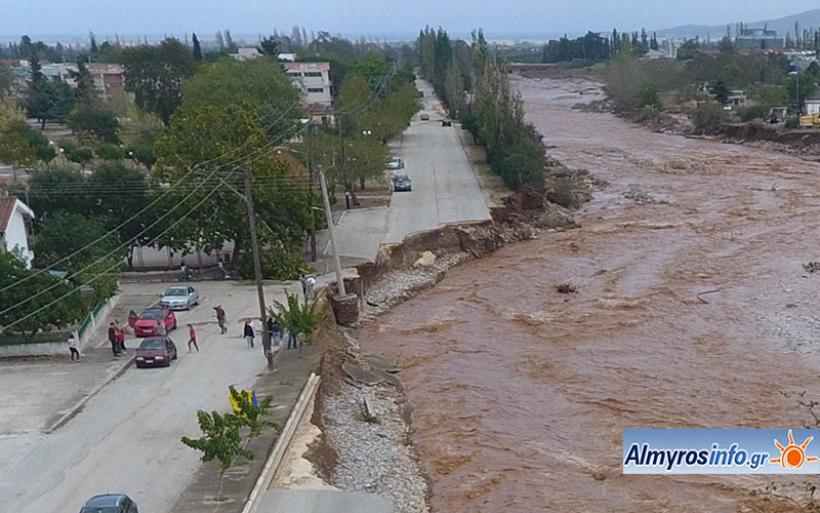 """Ζητούν να συζητηθεί στο Δημοτικό Συμβούλιο Αλμυρού το θέμα των μεγάλων καταστροφών από τον """"Ιανό"""""""