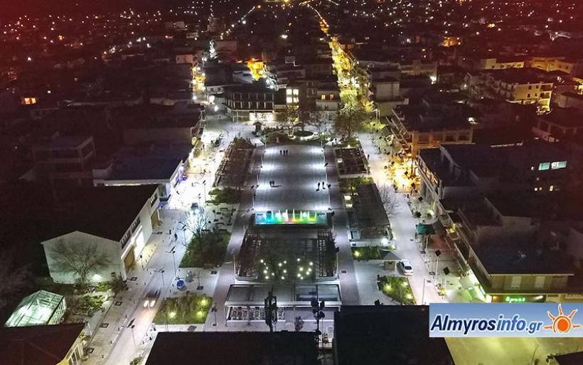 Μνημόνιο συνεργασίας για το ανοιχτό κέντρο εμπορίου στον Αλμυρό