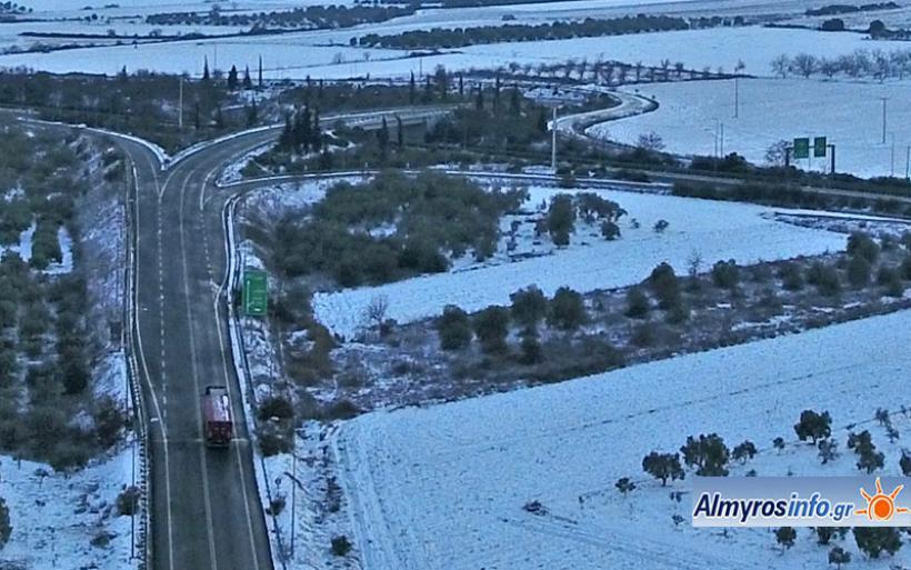 Aίρεται η απαγόρευση κυκλοφορίας φορτηγών άνω των 3,5 τόνων στην ΠΑΘΕ