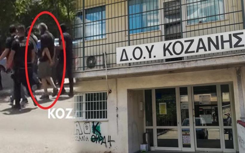 Επίθεση με τσεκούρι στην εφορία Κοζάνης: Ψάχνουν τα κίνητρα του 45χρονου που λειτούργησε με σχέδιο