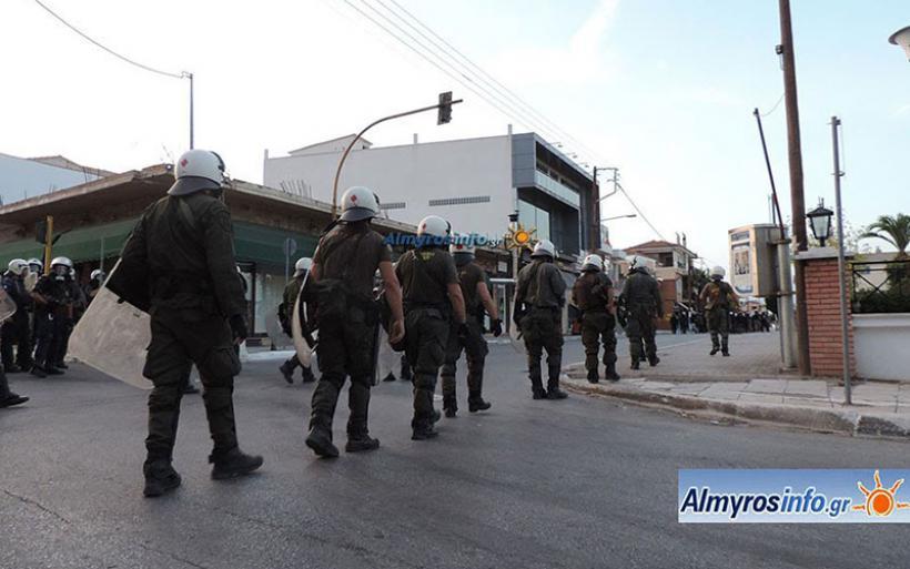 Η Ένωση Επαγγελματοβιοτεχνών & Εμπόρων Επ. Αλμυρού συγχαίρει την Αστυνομία