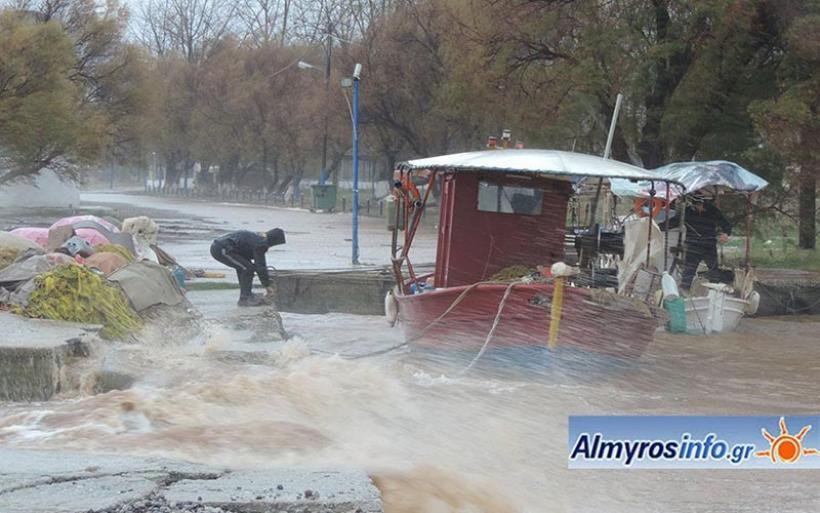 Ισχυρές βροχές και καταιγίδες από το βράδυ της Κυριακής – Θα επηρεαστούν τα παράλια της Μαγνησίας