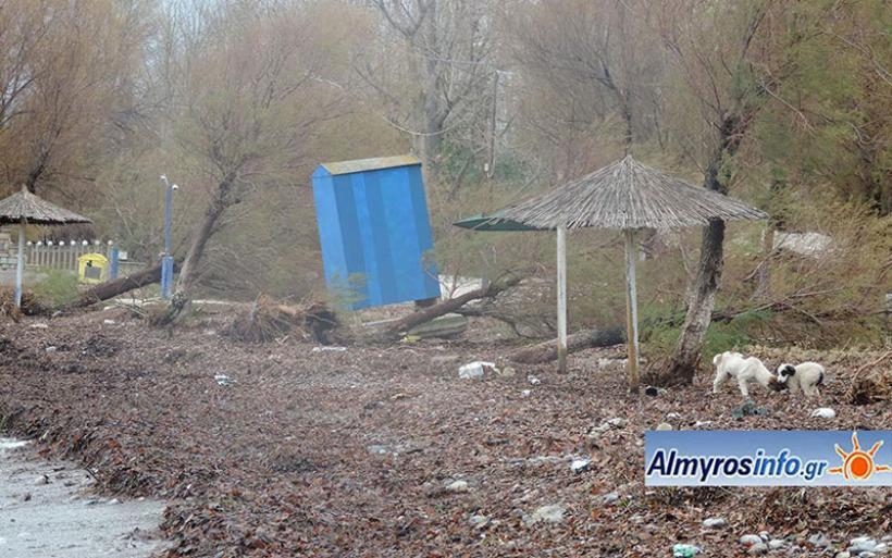 Σε κατάσταση έκτακτης ανάγκης περιοχές του Δήμου Αλμυρού