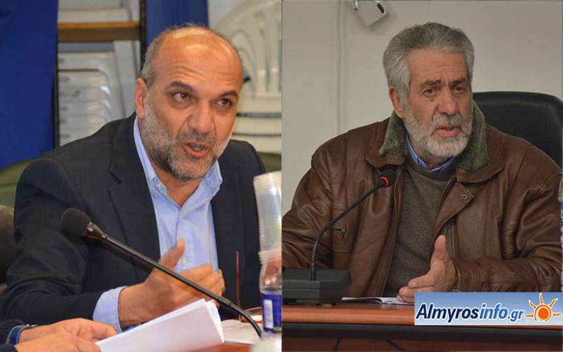 Κόντρα Χατζηκυριάκου - Εσερίδη με αφορμή την απόφαση του Δημάρχου για Ε.Δ.Ε. (βίντεο)