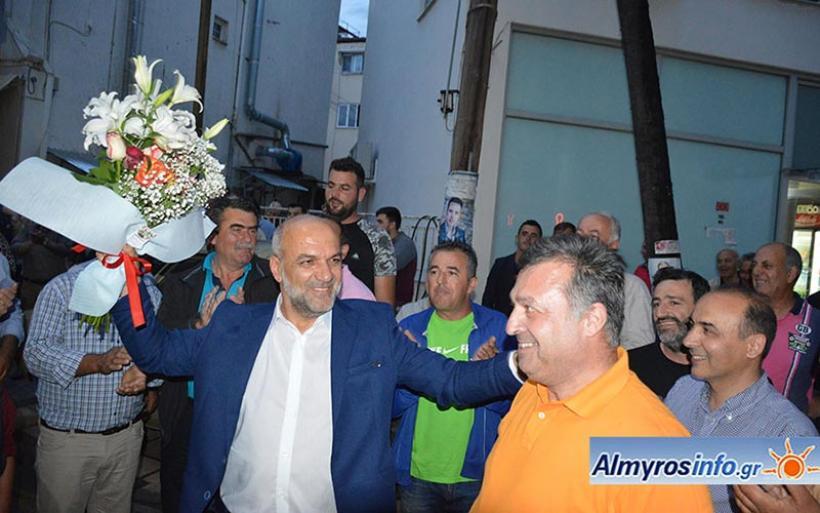 Τα αποτελέσματα των εκλογών στο Δήμο Αλμυρού - Νικητής ο Βαγ. Χατζηκυριάκος
