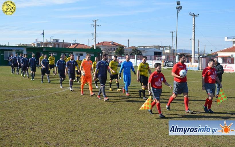 Νικητής ο Αίας 5-2 τη Δήμητρα στο ντέρμπι - Αποτελέσματα ΕΠΣΘ