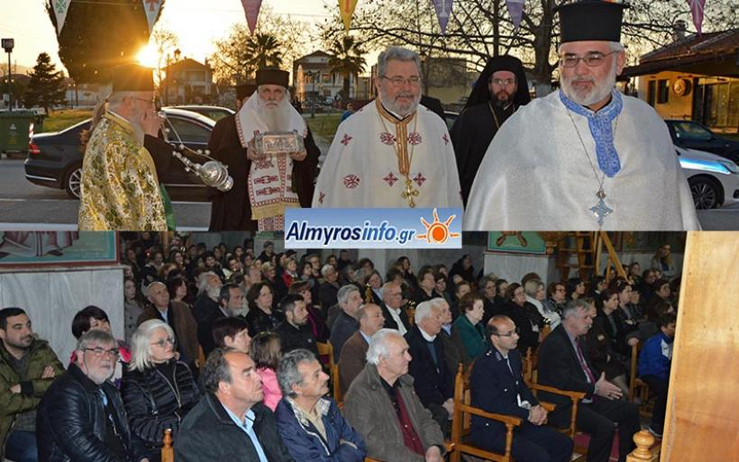 Στην Ευξεινούπολη το Ιερό Λείψανο του Αγίου Λουκά του Ιατρού (φωτογραφίες)