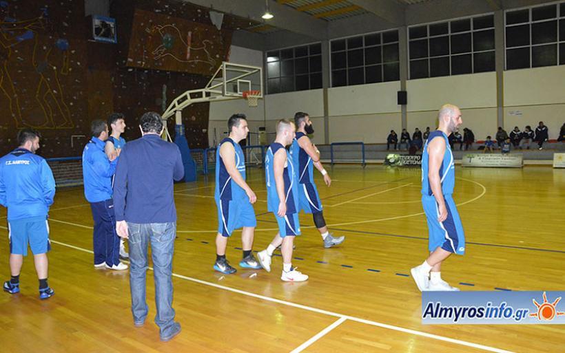 Νίκη Βόλου - Γ.Σ. Αλμυρού 87-60
