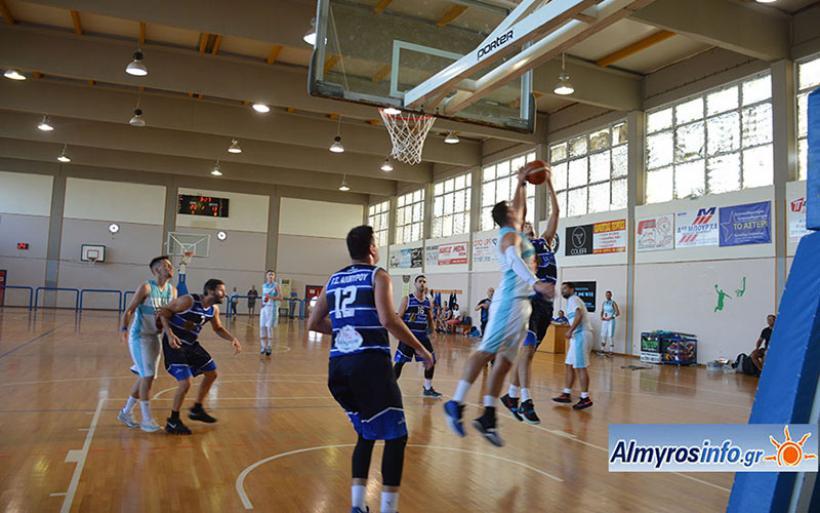 Γ.Σ.Α. - ΑΙΟΛΙΚΟΣ 61-43 για το Κύπελλο ΕΣΚΑΘ