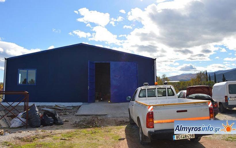 Αλλάζει στέγη η Υπηρεσία Καθαριότητας Δήμου Αλμυρού