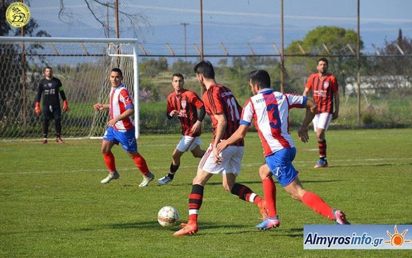 Μυρμιδόνες - Σαρακηνός 0-0 (φωτογραφίες)