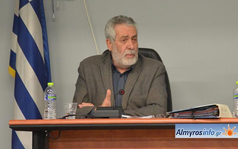Δ. Εσερίδης: Ανθρώπινο λάθος το εργατικό ατύχημα στο Δήμο Αλμυρού -Τηρήθηκαν όλα τα μέτρα ασφαλείας (βίντεο)