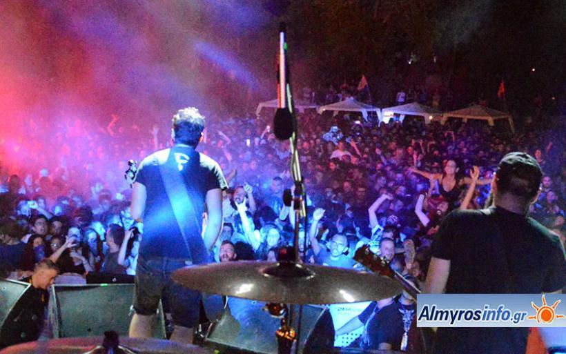 Χιλιάδες κόσμου στο δάσος Κουρί για το 6ο Los Almiros Festival (βίντεο&φωτο)