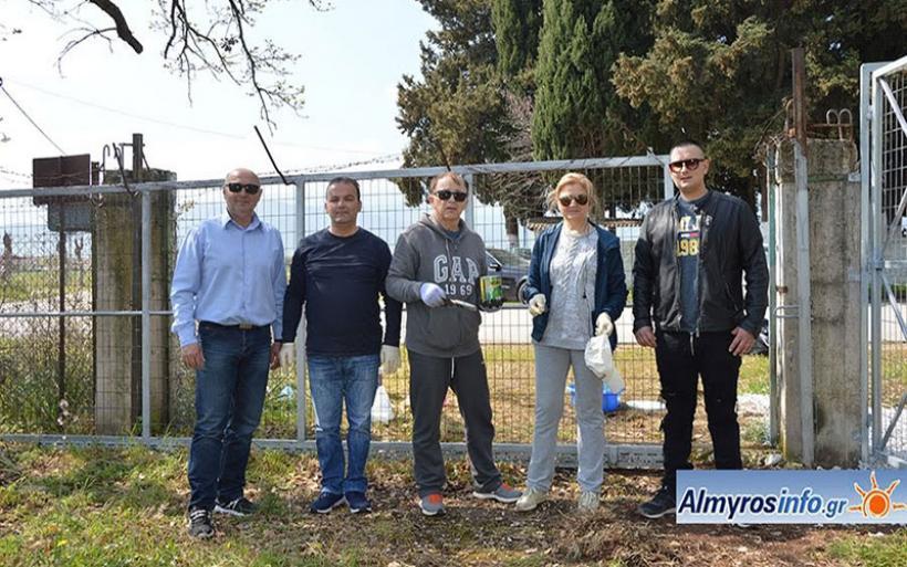 Πρόσβαση στο δάσος Κουρί από την είσοδο της Ευξεινούπολης - Ευχαριστήριο προς το Δήμο Αλμυρού