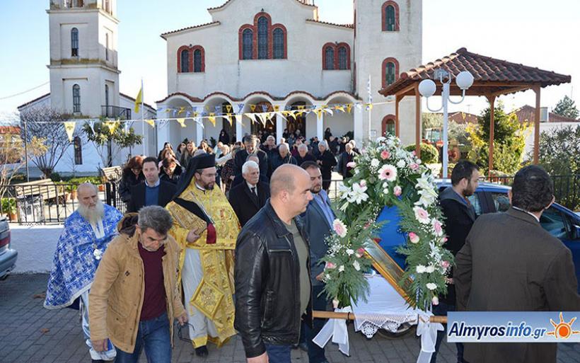 Τη μνήμη του Αγίου Νικολάου τίμησε η Τ.Κ. Κροκίου (ΦΩΤΟ)