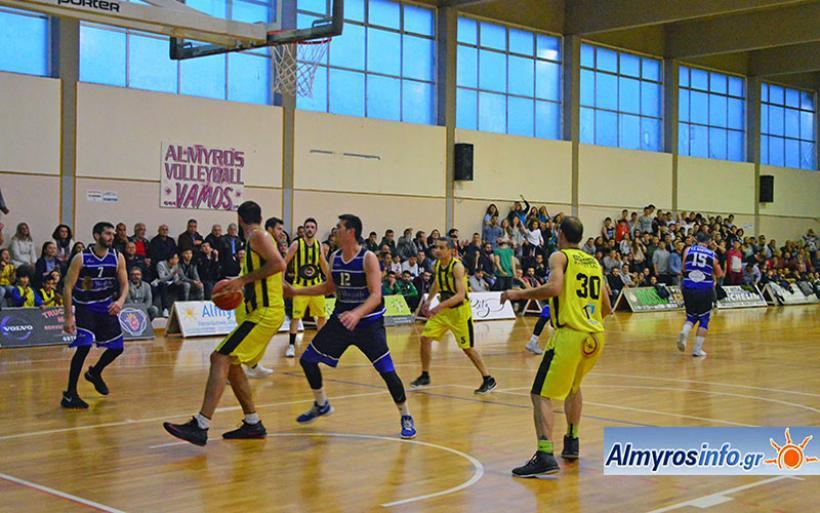 Ήττα Γ.Σ.Αλμυρού με 62-73 από την Καρδίτσα για τα play off ανόδου στην Γ' Εθνική
