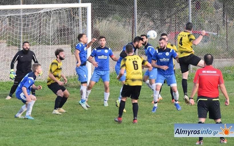 Πρωτεσίλαος - Αίας 2-1 (φωτο) & δηλώσεις (βίντεο)
