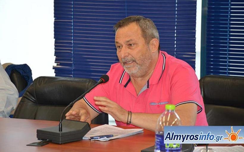 Αθωωτική απόφαση για τον Χρ. Καραζούπη στη δικαστική διαμάχη με τον δήμαρχο Αλμυρού