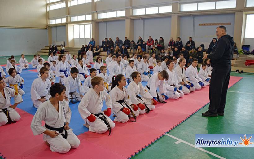 Προπονητική και Αγωνιστική Ημερίδα sport KARATE στον Αλμυρό (φωτο)