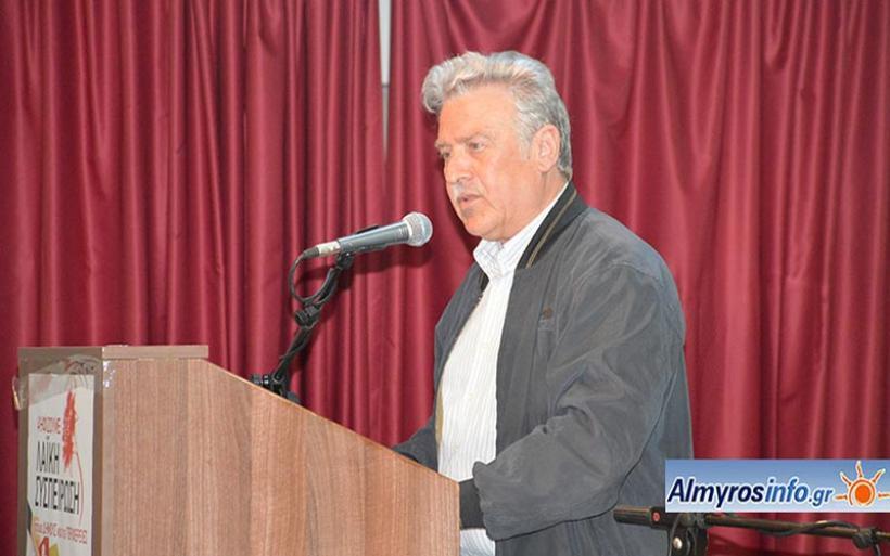 Λευκό ή άκυρο προτείνει η Λαϊκή Συσπείρωση ενόψει β΄ γύρου εκλογών στον Δήμο Αλμυρού