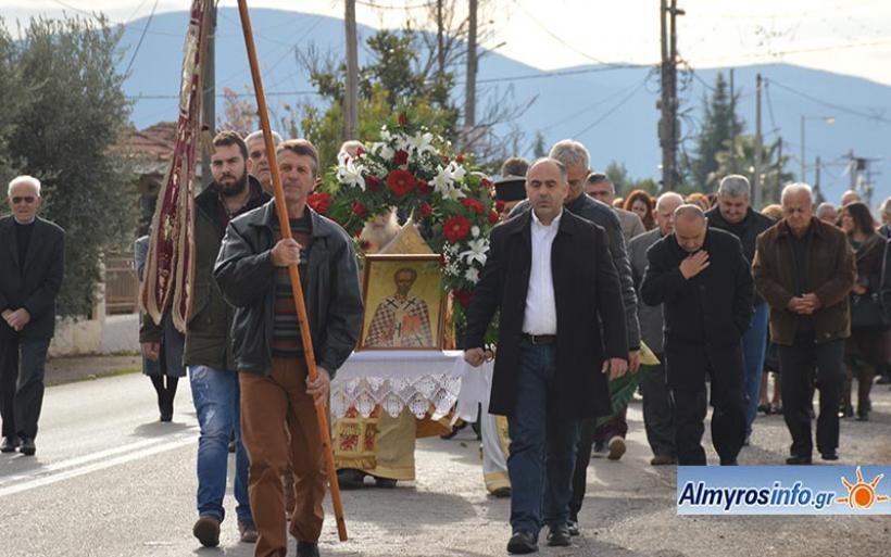 Τη μνήμη του πολιούχου Αγίου Νικολάου τίμησε η Τ.Κ. Κροκίου (βίντεο&φωτο)