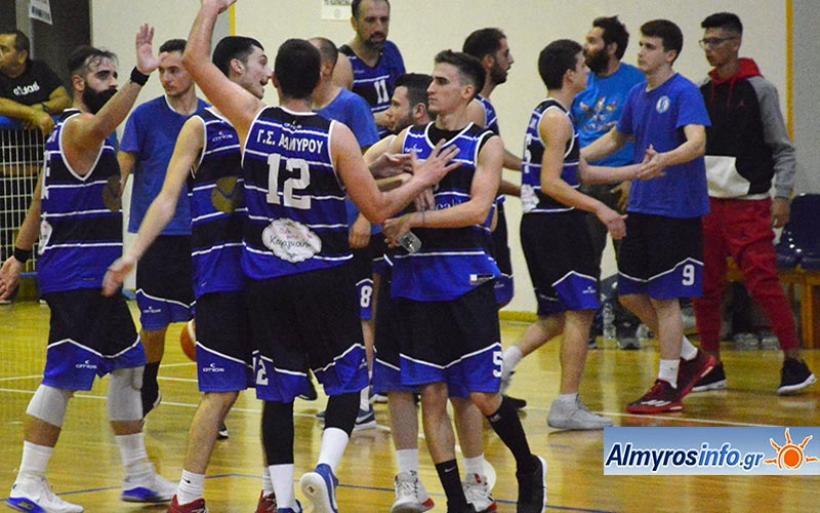 Τον Μύτικα Λάρισας υποδέχεται η ομάδα μπάσκετ του ΓΣ Αλμυρού