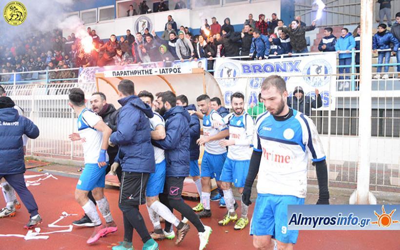Στον τελικό ο Γ.Σ.Α. 2-0 τον Πύρασο