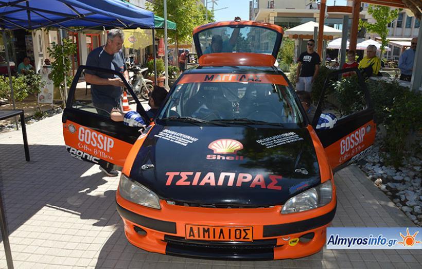Σε ρυθμούς Rally Almyros 2018 η περιοχή του Αλμυρού - Φωτογραφίες από τον τεχνικό έλεγχο