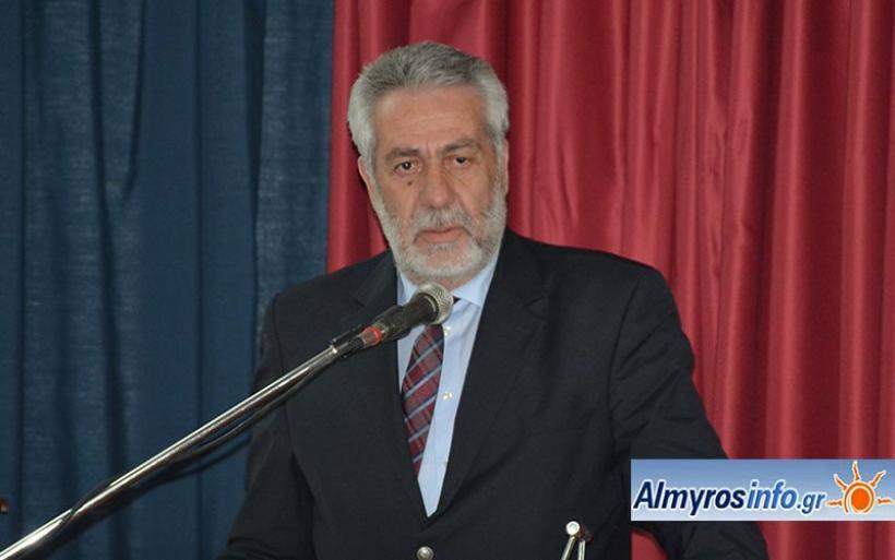 Απάντηση Εσερίδη σε Χατζηκυριάκο για την κοινωνική πρόνοια του Δήμου Αλμυρού
