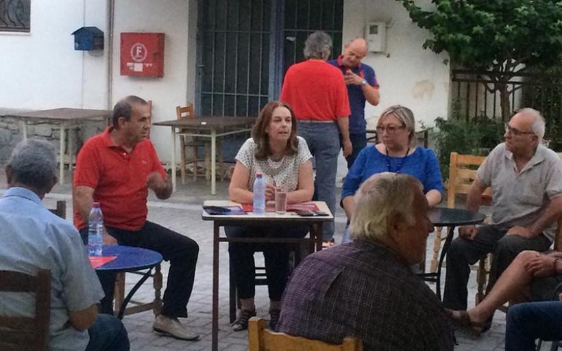 Επίσκεψη υποψηφίων βουλευτών του ΣΥΡΙΖΑ στην Ευξεινούπολη