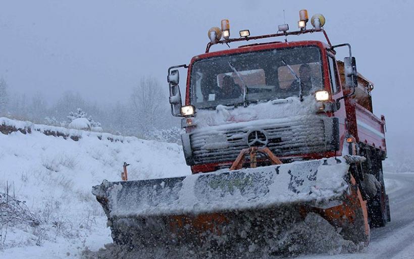 Έκτακτο δελτίο ΕΜΥ: Χιόνια την Πέμπτη στη Θεσσαλία από τα 200 μέτρα υψόμετρο