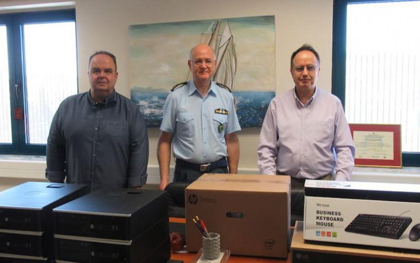 Υπολογιστές δώρισε στην Αστυνομία το Επιμελητήριο Μαγνησίας