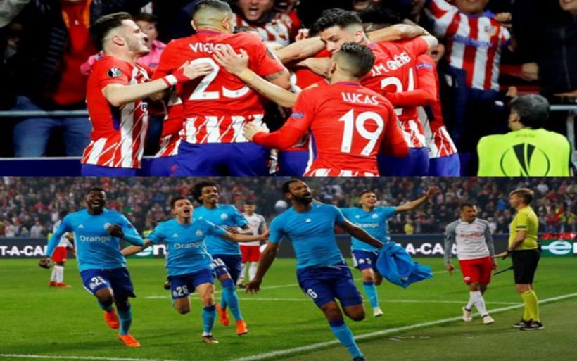 Ατλέτικο Μαδρίτης εναντίον Μαρσέιγ στον τελικό του Europa League
