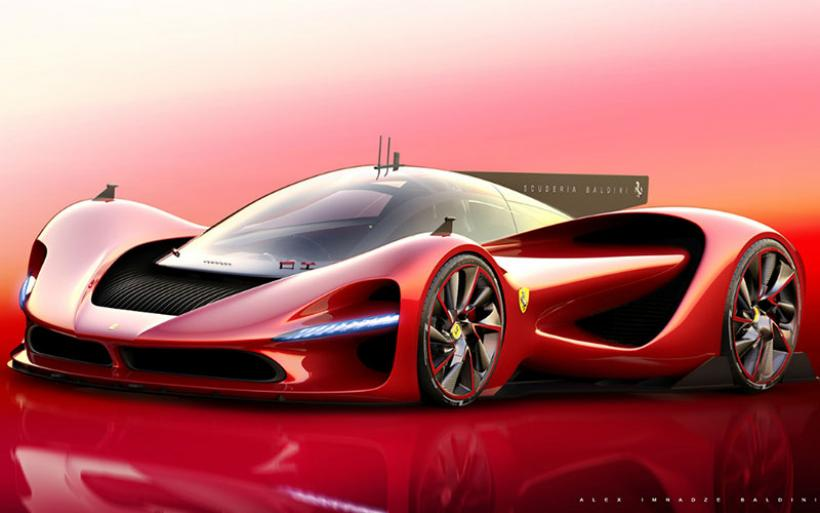 Έτσι θα είναι το hypercar της Ferrari - Η απόδοση θα φτάνει τα 1.300 άλογα!!