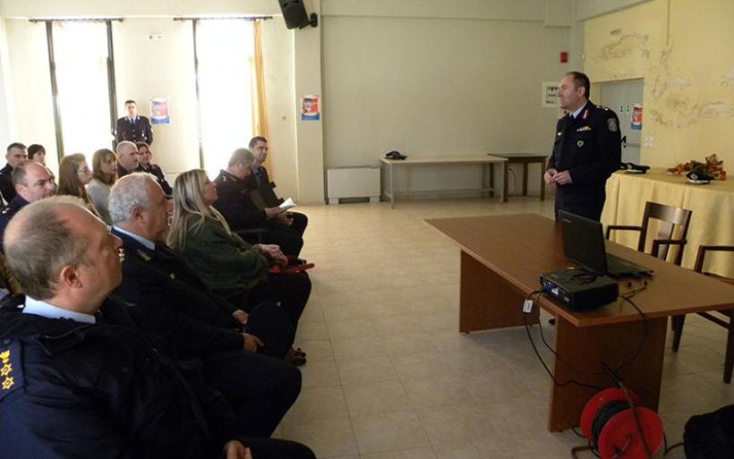 Ενημερωτικές επισκέψεις ψυχολόγων της Ελληνικής Αστυνομίας στις Υπηρεσίες της ΓΕ.Π.Α.Δ. Θεσσαλίας