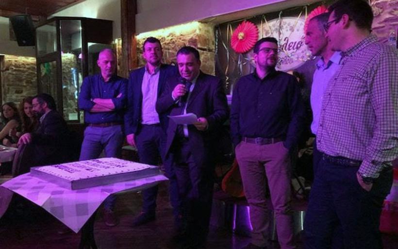 Ο Γεωπονικός Σύλλογος Μαγνησίας έκοψε την βασιλόπιτα (φωτο)