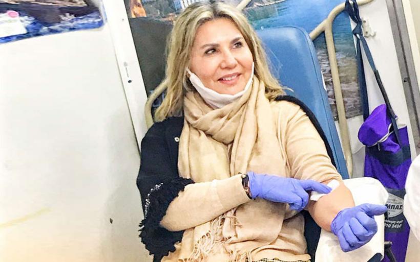 Συγκινητική και μεγάλη η αποδοχή της εθελοντικής αιμοδοσίας της Ζέττας