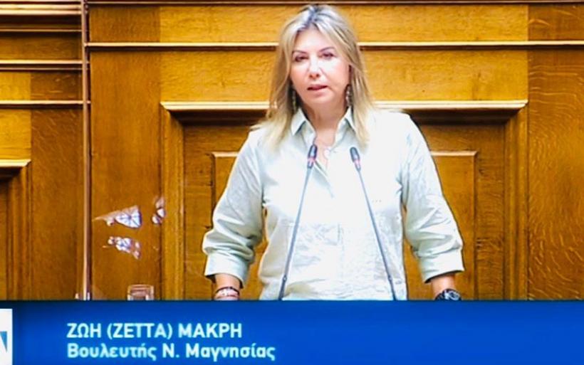 Ζέττα Μακρή: Αναγκαία η παράταση της αντικατάστασης των ταμειακών μηχανών