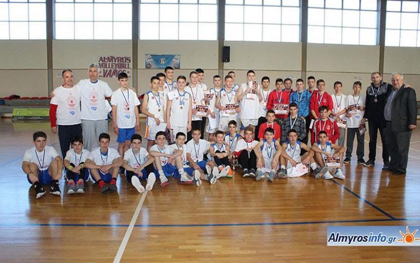 Mε απόλυτη επιτυχία το 1ο Διεθνές Τουρνουά μπάσκετ των Τιτάνων (βίντεο&φωτο)