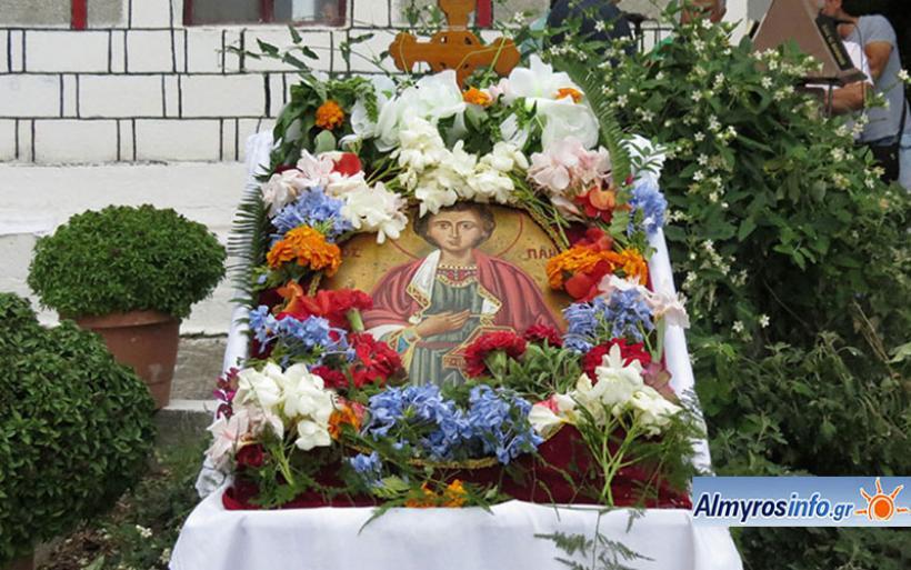 Ιερά Μονή Άνω Ξενιάς: Θυρανοίξια στο ανακαινισμένο Ιερό Μετόχι του Αγίου Παντελεήμονα στον Πτελεό