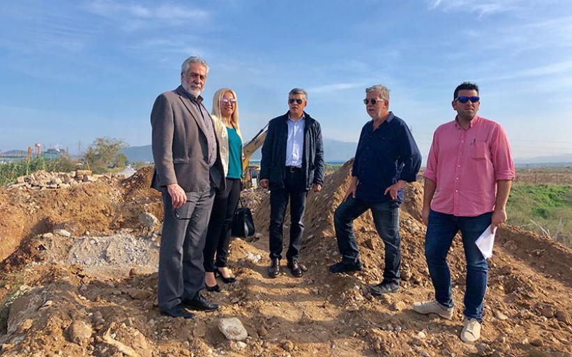 Την ανακατασκευή της γέφυρας στο Πλατανόρεμα επέβλεψε ο Περιφερειάρχης Θεσσαλίας