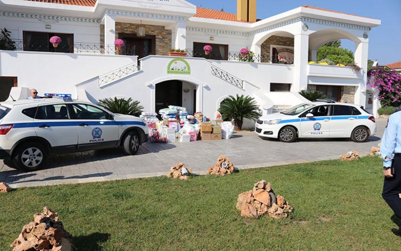 Η Διεύθυνση Αστυνομίας Μαγνησίας στο πλευρό των παιδιών της «Κιβωτού του Κόσμου»